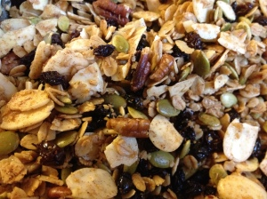 Sexy Granola Close-Up