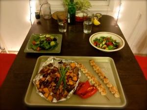 Light Meal Served